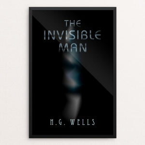 "Invisible Man 2 by Nick Fairbank 12"" by 18"" Print / Framed Print Recovering the Classics"