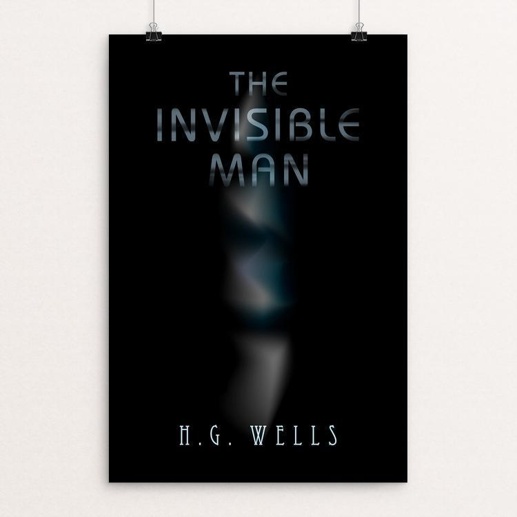 "Invisible Man 2 by Nick Fairbank 12"" by 18"" Print / Unframed Print Recovering the Classics"