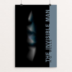 "Invisible Man by Nick Fairbank 12"" by 18"" Print / Unframed Print Recovering the Classics"