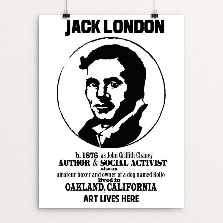 Jack London by Lena Reynoso