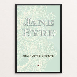 "Jane Eyre #1 by Ed Gaither 12"" by 18"" Print / Framed Print Recovering the Classics"