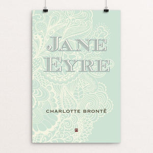 "Jane Eyre #1 by Ed Gaither 12"" by 18"" Print / Unframed Print Recovering the Classics"