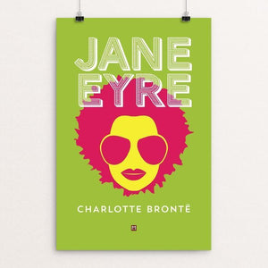 "Jane Eyre #2 by Ed Gaither 12"" by 18"" Print / Unframed Print Recovering the Classics"