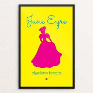 "Jane Eyre #3 by Ed Gaither 12"" by 18"" Print / Framed Print Recovering the Classics"