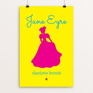 "Jane Eyre #3 by Ed Gaither 12"" by 18"" Print / Unframed Print Recovering the Classics"