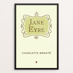 "Jane Eyre #4 by Ed Gaither 12"" by 18"" Print / Framed Print Recovering the Classics"