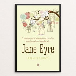 "Jane Eyre #5 by Ed Gaither 12"" by 18"" Print / Framed Print Recovering the Classics"