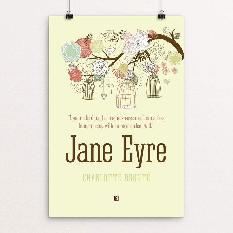 "Jane Eyre #5 by Ed Gaither 12"" by 18"" Print / Unframed Print Recovering the Classics"