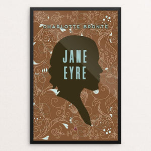 "Jane Eyre #6 by Ed Gaither 12"" by 18"" Print / Framed Print Recovering the Classics"