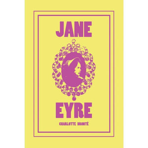 "Jane Eyre by Emily Rose Halpern 12"" by 18"" Print / Unframed Print Recovering the Classics"