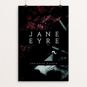 "Jane Eyre by Victoria Michalski 12"" by 18"" Print / Unframed Print Recovering the Classics"