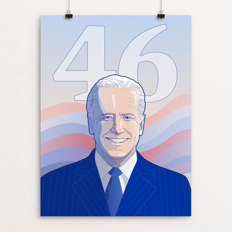 Joe Biden 46 by Hillary Lewis