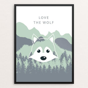 "Join the Pack by Natasha Kovaleva 12"" by 16"" Print / Framed Print Join the Pack"
