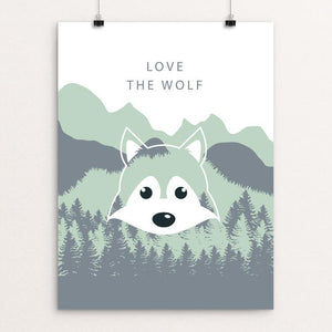 "Join the Pack by Natasha Kovaleva 12"" by 16"" Print / Unframed Print Join the Pack"