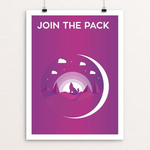 "Join the Pack by Oussama Zouaimia 12"" by 16"" Print / Unframed Print Join the Pack"