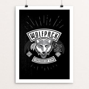 "Join The Pack by Tim Burke 12"" by 16"" Print / Unframed Print Join the Pack"