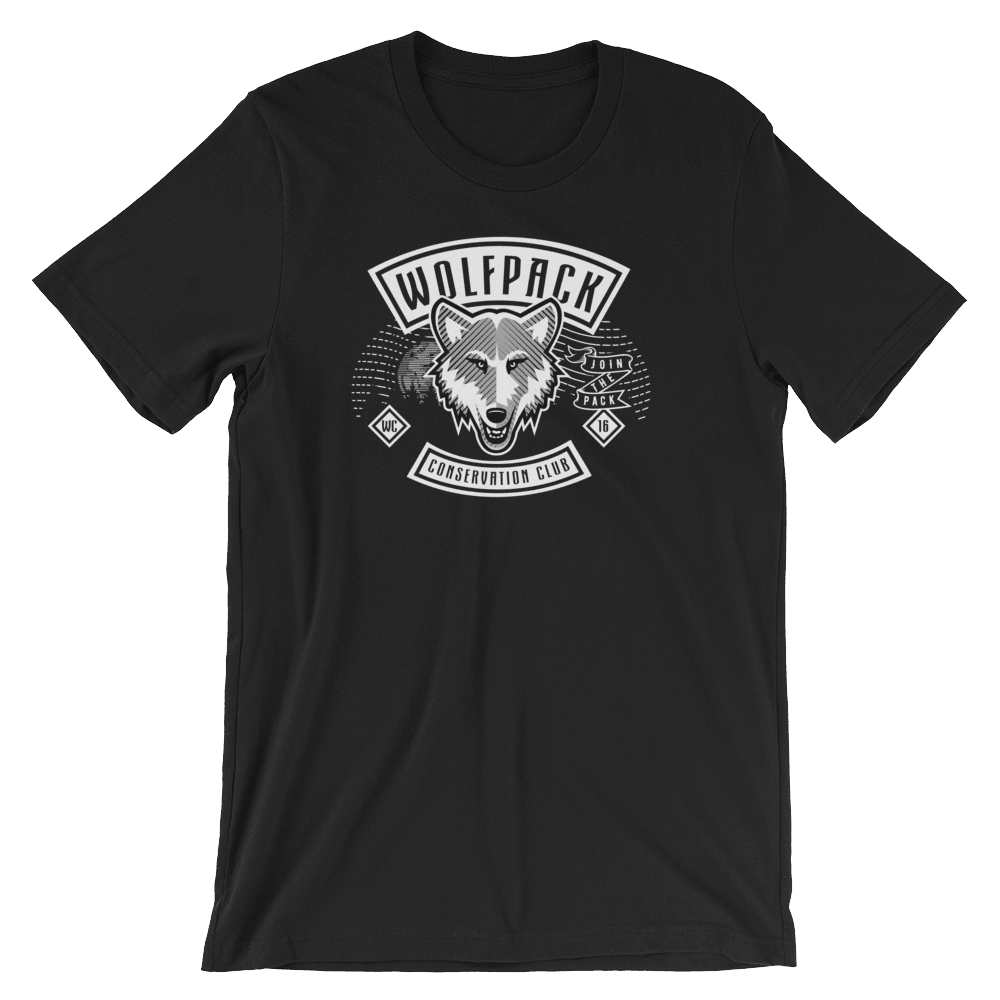 Join The Pack Men's T-Shirt by Tim Burke Black / XS T-Shirt Join the Pack