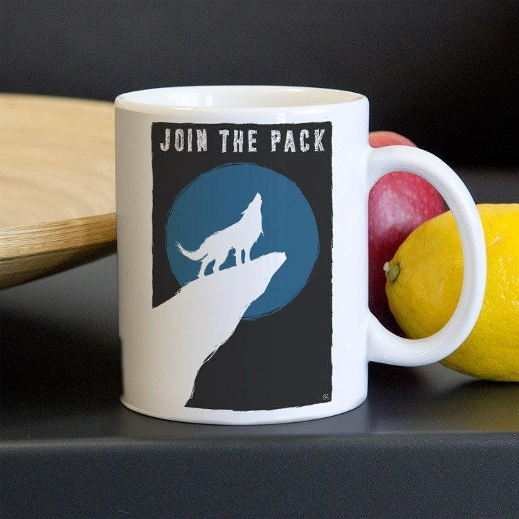 Join the Pack Mug by Shane Henderson