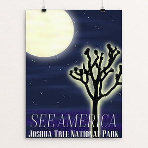 "Joshua Tree National Park by Danielle Simpson 12"" by 16"" Print / Unframed Print See America"