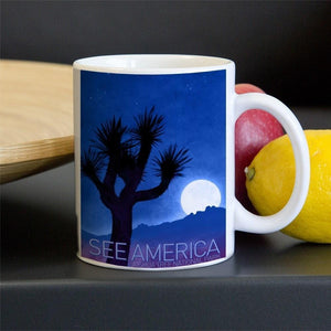 Joshua Tree National Park Mug by Adam S. Doyle 11oz Mug See America