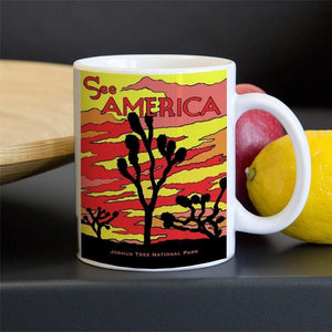 Joshua Tree National Park Mug by Joshua Sierra 11oz Mug See America