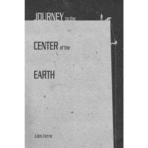 "Journey to the Center of the Earth by J.R.J Sweeney 12"" by 18"" Print / Unframed Print Recovering the Classics"