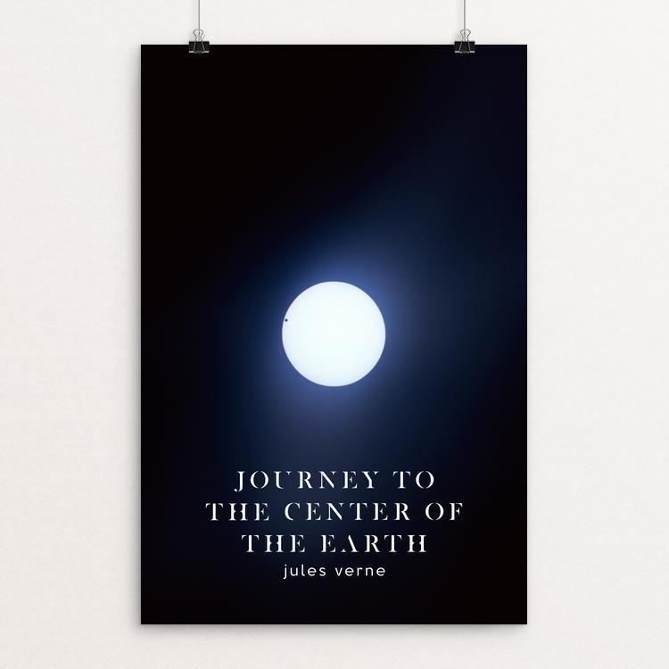 "Journey to the Center of the Earth by Nick Fairbank 12"" by 18"" Print / Unframed Print Recovering the Classics"