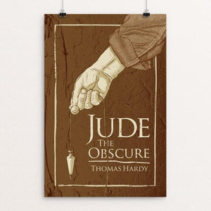 "Jude the Obscure by Brixton Doyle 12"" by 18"" Print / Unframed Print Recovering the Classics"