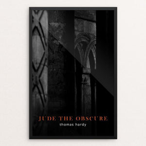 "Jude the Obscure by Nick Fairbank 12"" by 18"" Print / Framed Print Recovering the Classics"