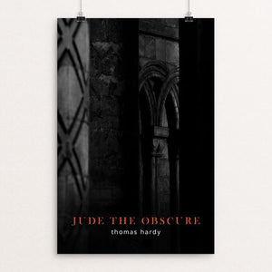 "Jude the Obscure by Nick Fairbank 12"" by 18"" Print / Unframed Print Recovering the Classics"