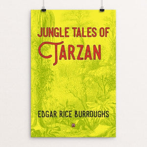 "Jungle Tales of Tarzan by Ed Gaither 12"" by 18"" Print / Unframed Print Recovering the Classics"