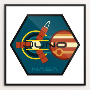 "Juno by Ben Farrow 12"" by 12"" Print / Framed Print Space Horizons"
