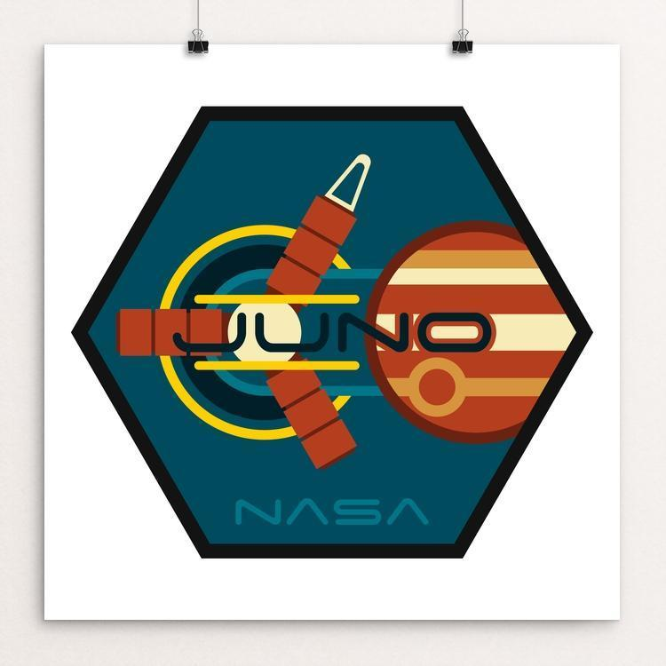 "Juno by Ben Farrow 12"" by 12"" Print / Unframed Print Space Horizons"
