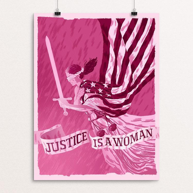 Justice is a Woman by Brixton Doyle