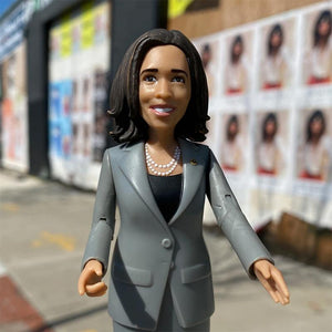 Kamala Harris Action Figure by FCTRY Action Figure Creative Action Network