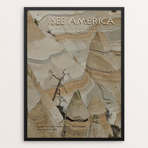 "Kasha-Katuwe Tent Rocks National Monument by Jane Rohling 12"" by 16"" Print / Framed Print See America"