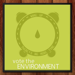 "Kcolc'o Emit by Joaquin 12"" by 12"" Print / Framed Print Vote the Environment"
