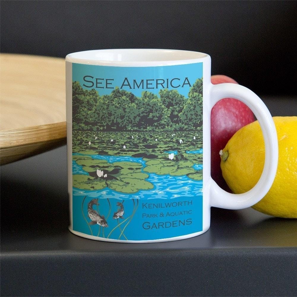 Kenilworth Park and Aquatic Gardens Mug by Candy Medusa
