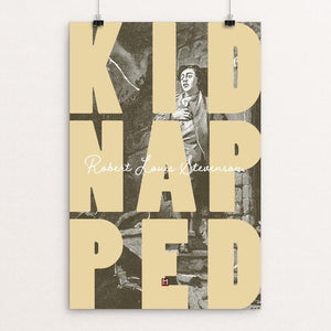 "Kidnapped by Ed Gaither 12"" by 18"" Print / Unframed Print Recovering the Classics"
