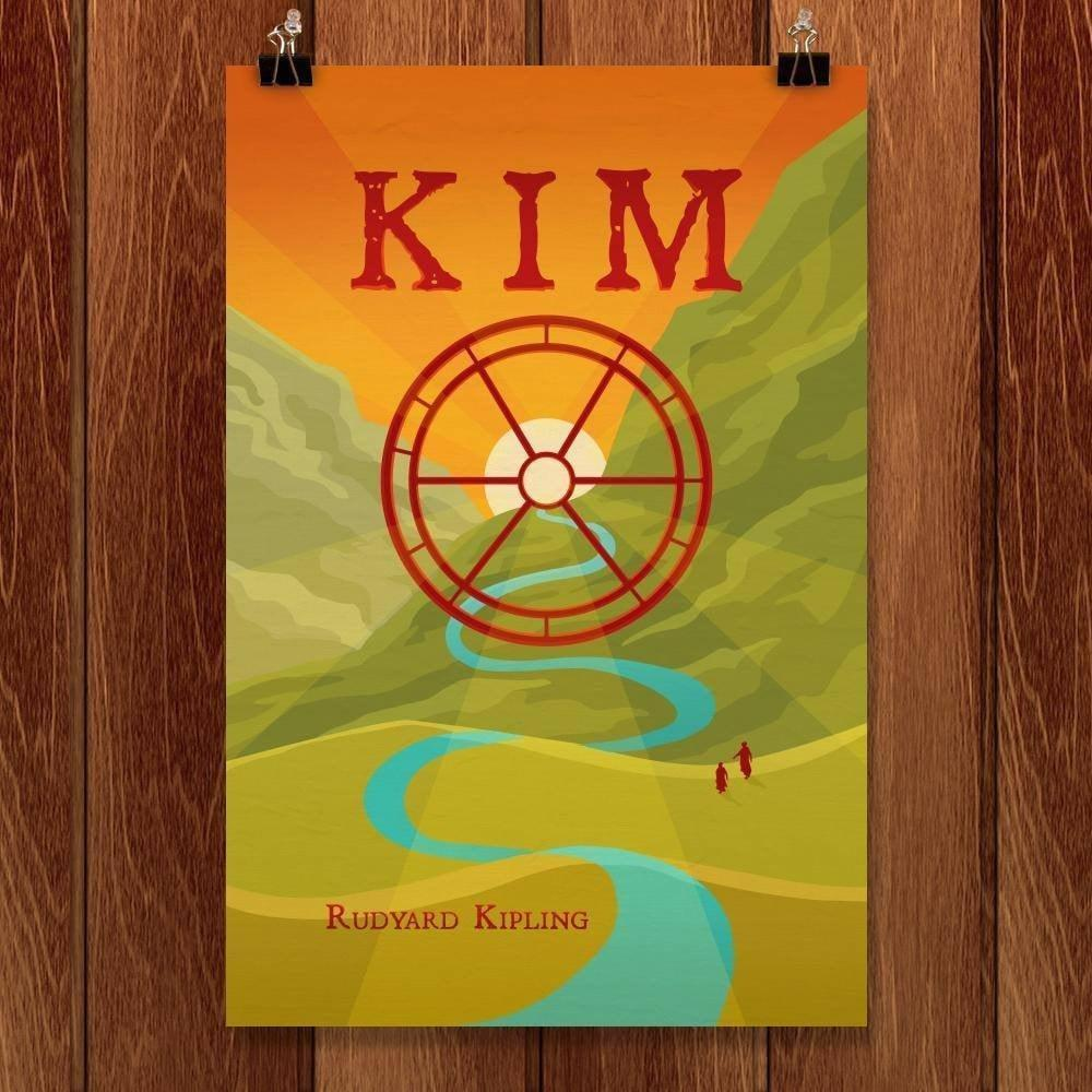 "Kim by Cassidy Kapson 12"" by 18"" Print / Unframed Print Recovering the Classics"