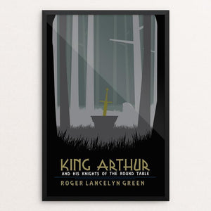 "King Arthur and the Knights of the Round Table by Tyson Duerr 12"" by 18"" Print / Framed Print Recovering the Classics"