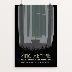 "King Arthur and the Knights of the Round Table by Tyson Duerr 12"" by 18"" Print / Unframed Print Recovering the Classics"