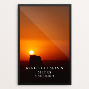"King Solomon's Mines by Nick Fairbank 12"" by 18"" Print / Framed Print Recovering the Classics"