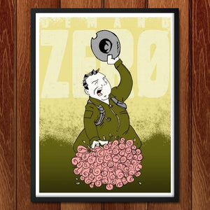 "Kong Demands Zero by Christopher Williams 18"" by 24"" Print / Framed Print Demand Zero"