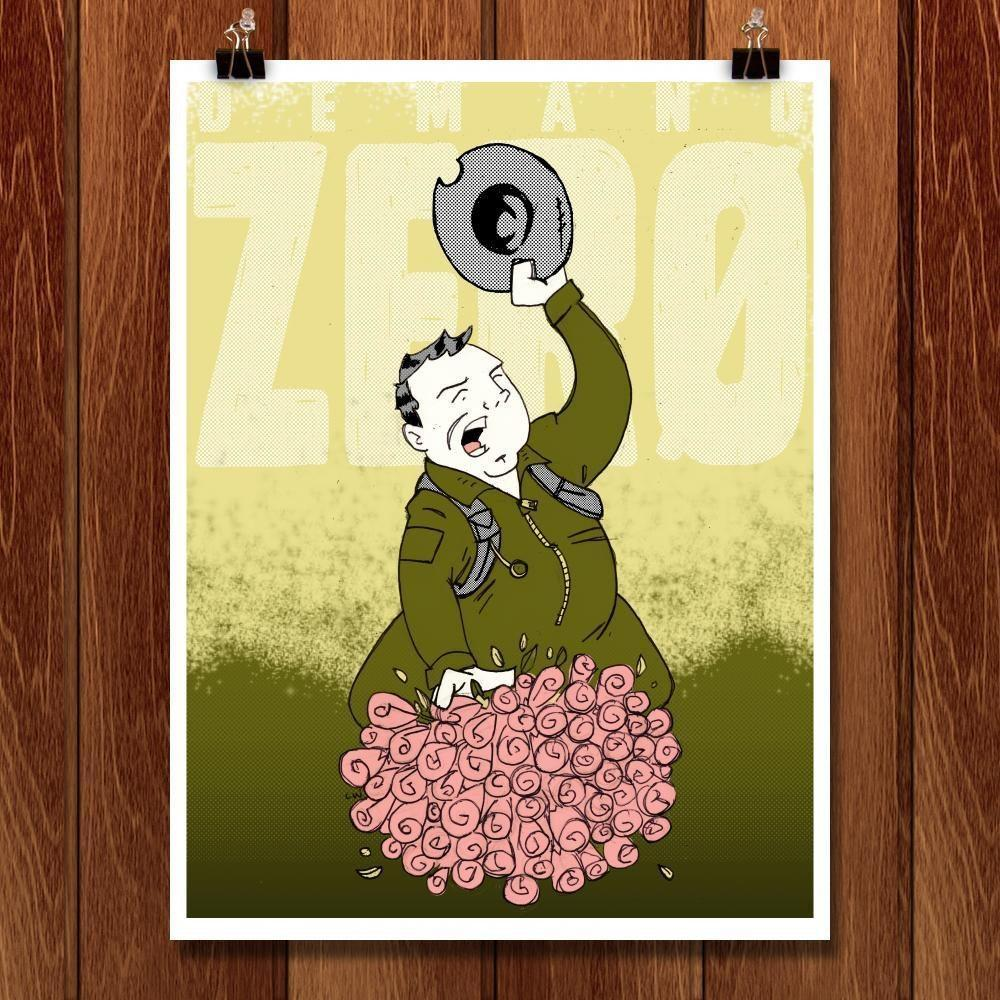 "Kong Demands Zero by Christopher Williams 18"" by 24"" Print / Unframed Print Demand Zero"