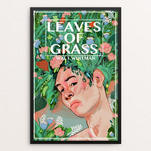 "Leaves of Grass by Diana Polanco 12"" by 18"" Print / Framed Print Recovering the Classics"