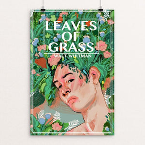 "Leaves of Grass by Diana Polanco 12"" by 18"" Print / Unframed Print Recovering the Classics"