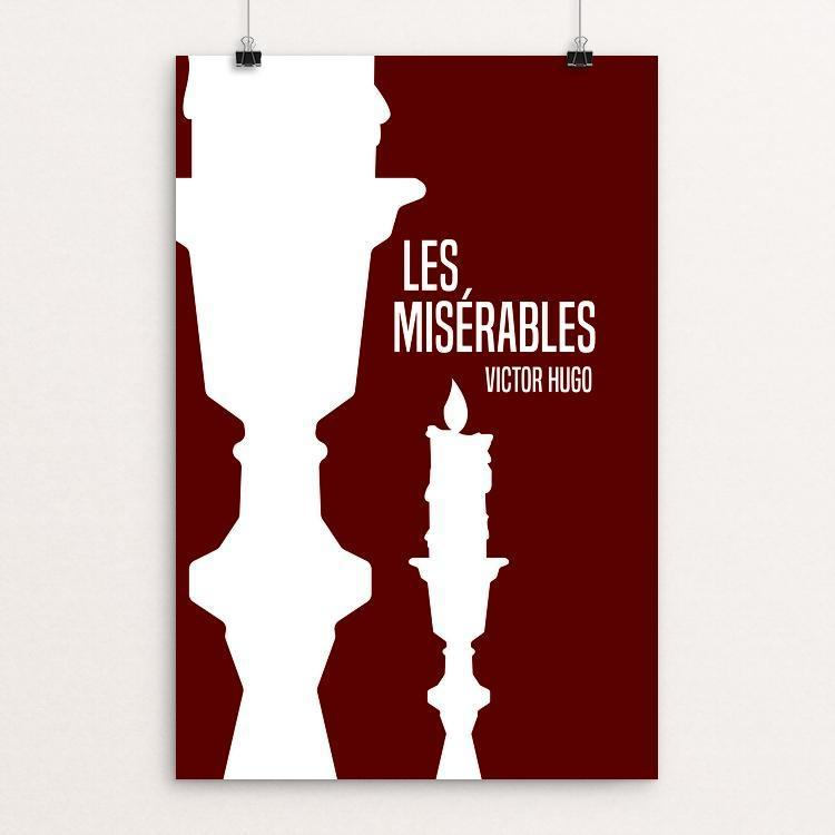 "Les Misérables 3 by Tanner Boesiger 12"" by 18"" Print / Unframed Print Recovering the Classics"
