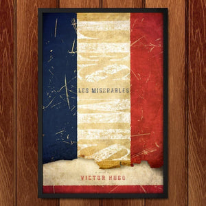"Les Miserables by Jon Cain 12"" by 18"" Print / Framed Print Recovering the Classics"