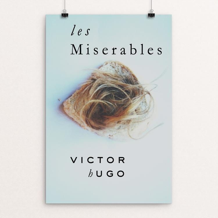 "Les Miserables by Medeea Iancu 12"" by 18"" Print / Unframed Print Recovering the Classics"